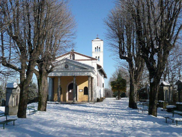 Santuario Madonna di Miralta in Inverno